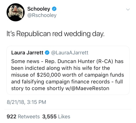 Republican Red Wedding